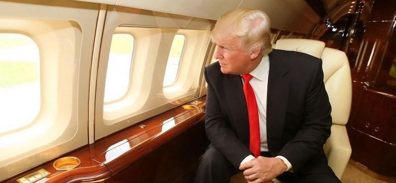 Elképesztő luxus: nézze meg, hol lakik Donald Trump, amikor éppen úton van – videó