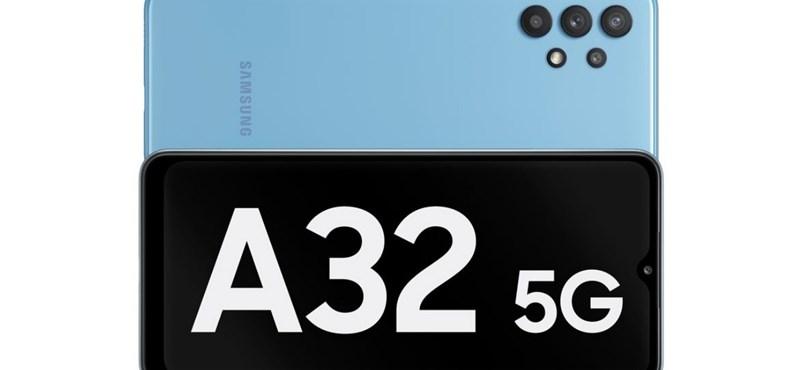 Magyarországra is elhozza a Samsung a legolcsóbb 5G-s telefonját