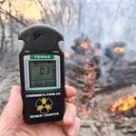 Végre jó hír érkezett a csernobili erdőtűzről