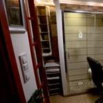 Három és fél négyzetméter: íme Budapest legkisebb lakása
