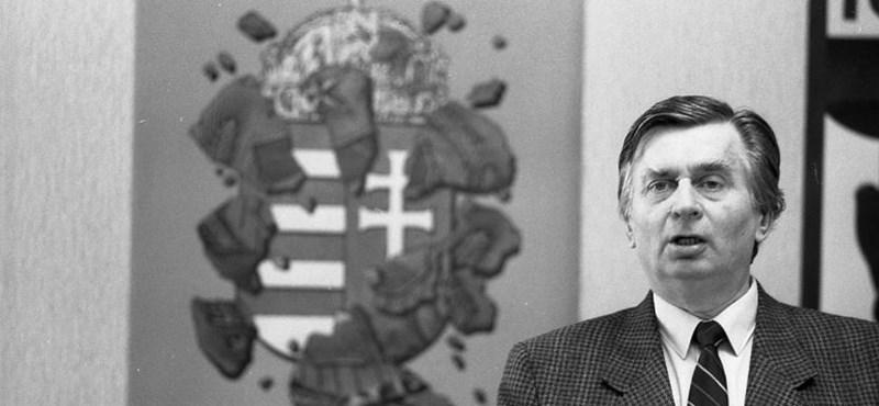 Antall József fia elárulta, apja mit mondott a halálos ágyán Orbán Viktornak