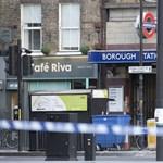 Egy olasz fotós lefotózta az egyik londoni merénylőt, miután lelőtték