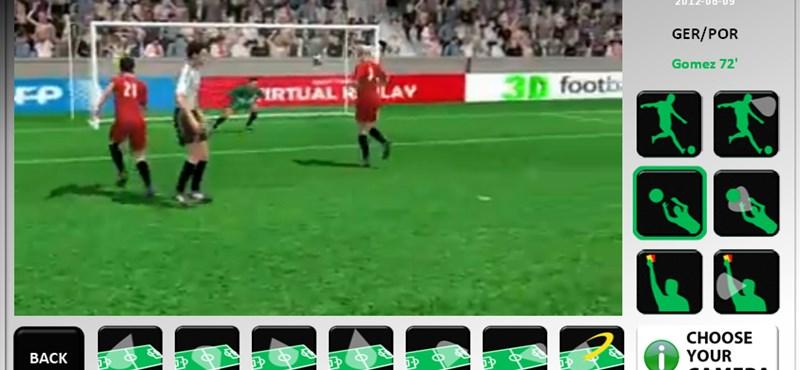 Nézze meg az összes Eb-gólt 3D-ben!