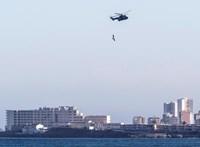 Lezuhant a spanyol légierő repülőgépe, a pilóta meghalt