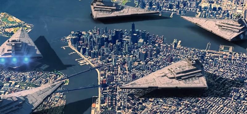 Elképed, ha meglátja: ekkorák lennének a valóságban a Star Wars ikonikus űrhajói