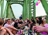 Négy hétvégére is megkapják a gyalogosok a Szabadság hidat