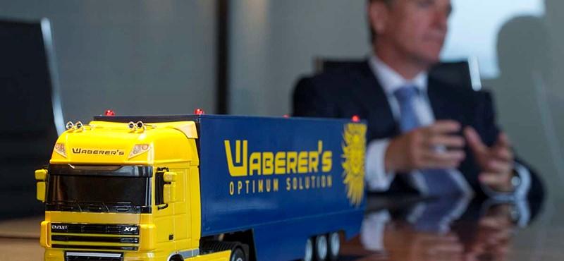 Lekerülhet a kamionokról a Waberer's név?