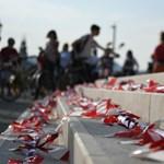 24 órás bringázással és a Charta Universitatis pédányaival tüntettek az SZFE hallgatói