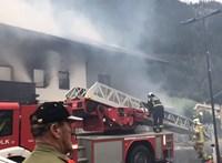 Robbanás volt egy osztrák szupermarketben, 9 sérült