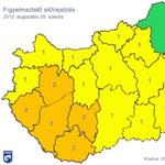 Jégeső, felhőszakadás – elérte Budapestet a viharzóna