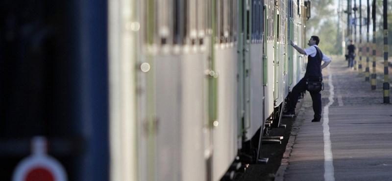 Ennyit késtek tavaly a vonatok Magyarországon