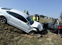 Fotókon az M5-ösön történt komoly baleset