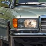 6,9 liter: nem a fogyasztása, a motorja ekkora ennek az eladó patinás Mercinek