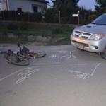 Fotó: pickup gázolta halálra a vétlen kerékpárost