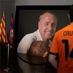 Megnyitották a Barcelona stadionját a Cruyffot gyászoló szurkolók előtt – fotók