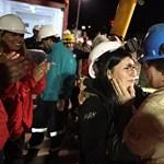 A chilei bányászok szabadulása – Nagyítás-fotógaléria