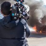Kirakta a BBC, amikor porrá égett a Top Gear forgatásán az Alpine A110-es