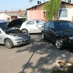 Nem adott elsőbbséget a passatos az Opelnek – fotó