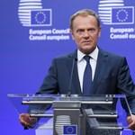 Az Európai Tanács elnöke is a lengyel tüntetők mellett van