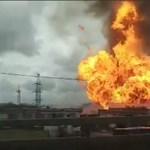 Hatalmas tűz ütött ki egy Moszkva melletti hőerőműben – videó