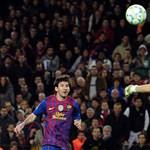 Ötöst kapott Messi professzortól a Bayer