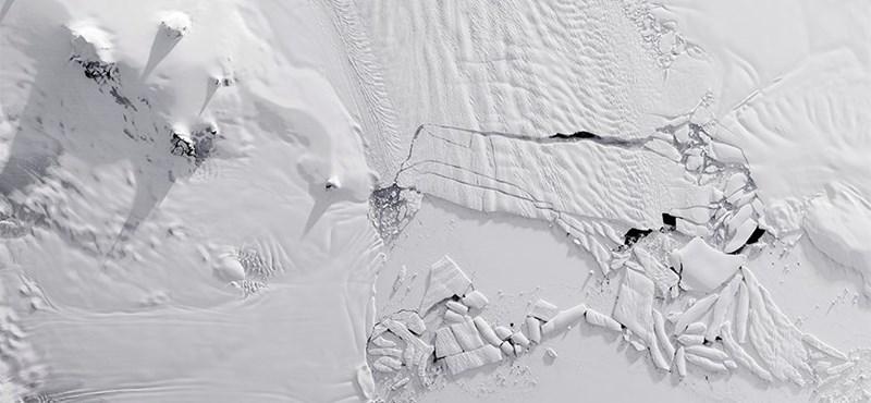 Hatszor gyorsabban olvad az Antarktisz jege, és már a stabil gleccserek is fogynak