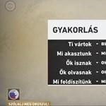 Furcsa orosz nyelvleckét adott a köztévé