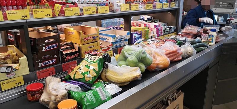 Megállíthatatlanul drágulnak az élelmiszerek, tovább nőtt az infláció