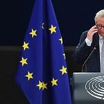Juncker szerint Orbán legyen hálás Merkelnek, ahelyett, hogy kritizálná
