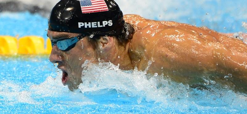Fél évre felfüggesztették minden idők legsikeresebb olimpikonját