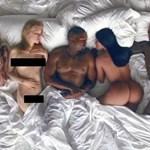 Kanye West kiállította Rihanna és Donald Trump meztelen testét