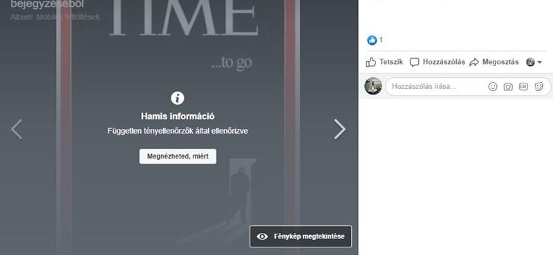 A Facebook kamufotó posztolásán kapott egy DK-s politikust