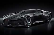 """Elkészült a világ legdrágább autója, a """"Fekete"""" Bugatti"""