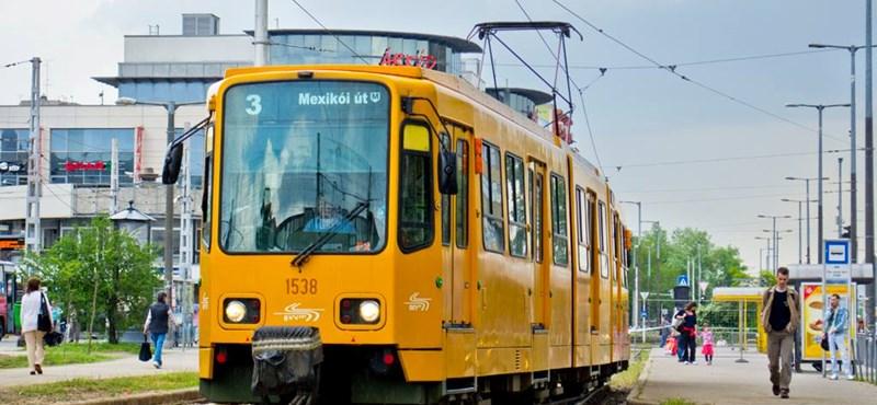 Folytatják a 3-as villamosvonal felújítását, változások lesznek a közlekedésben