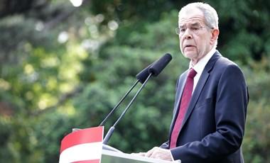Megszólalt az osztrák elnök is: csak az előrehozott választással állítható vissza a bizalom