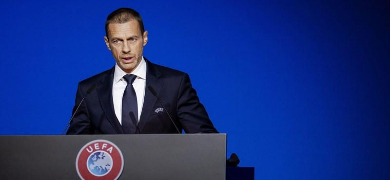 Az UEFA felfüggeszti az eljárást a Real Madrid, a Barcelona és a Juventus ellen