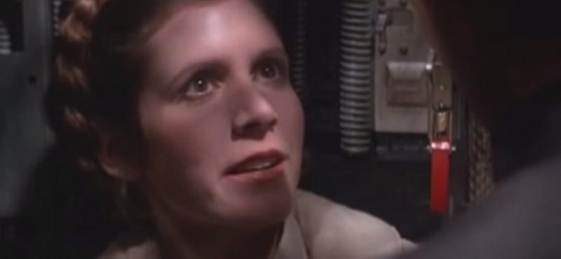Carrie Fisher rettegett, hogy a Csillagok háborúja derékba töri a karrierjét