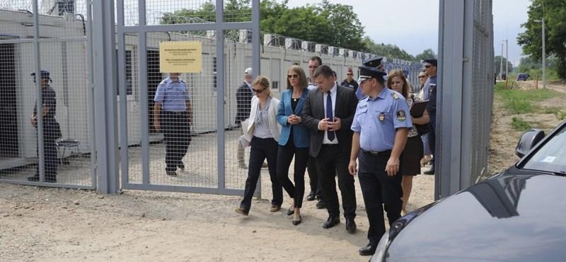 Kimondta az Európai Bíróság: a magyar állam jogellenesen tart őrizetben menedékkérőket Röszkénél