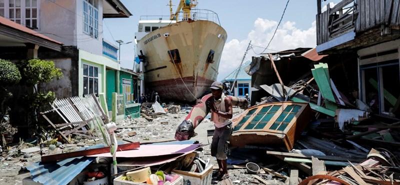 Már csaknem kétezer halottja van az indonéz földrengésnek