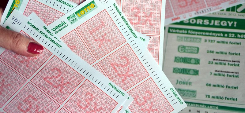 Megvannak az ötös lottó nyerőszámai