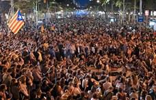 Általános sztrájk kezdődött Katalóniában