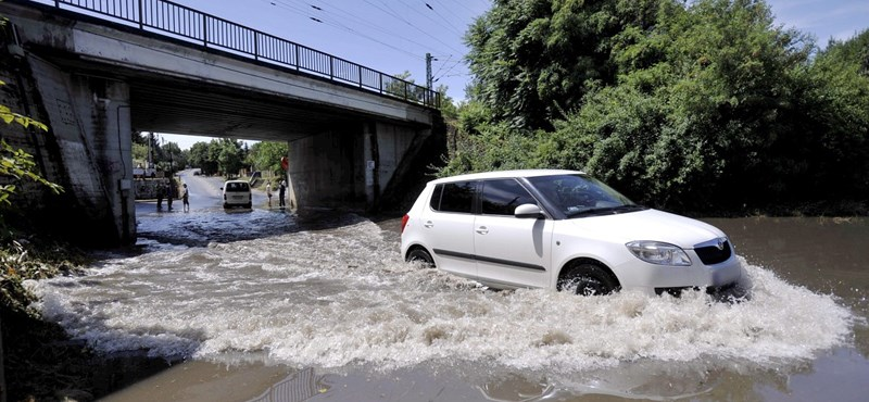 Vihar után: lassan fellélegezhet az ország
