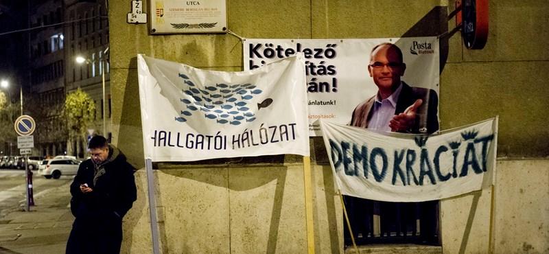 """Hallgatói Hálózat: """"Balog Zoltán hazudott"""""""