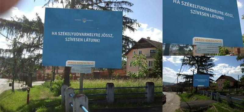 Fotó: Székelyföldön csattant a válasz Orbánék plakátjaira
