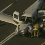 Autópályán landolt egy repülőgép Atlantánál – videó